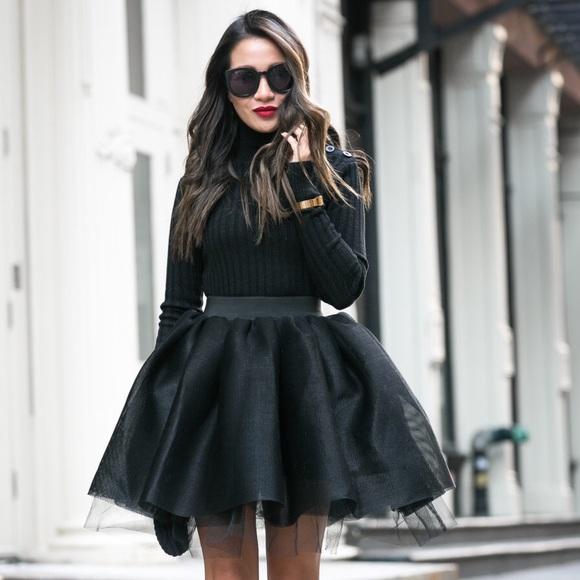 e0de12057 Maje Skirts | Jasmine Tulle Tutu Skirt Rare Size 36 | Poshmark